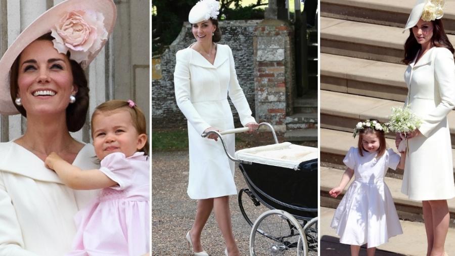 Kate Middleton usou o mesmo vestido pela terceira vez - Getty Images