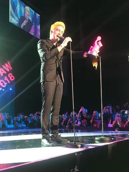 Felipe Neto recebe prêmio MIAW da MTV - Instagram/Reprodução
