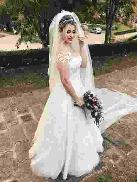 Niina Secrets se casa com vestido estilo princesa - Reprodução/Instagram
