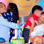 Luciele e Denilson em família - Reprodução/Instagram