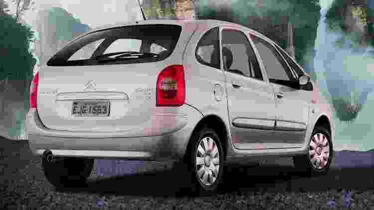 Citroën Xsara Picasso - Divulgação - Divulgação