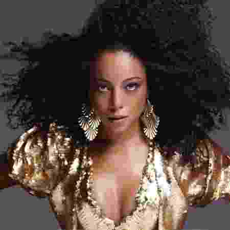 A cantora Negra Li - Reprodução - Reprodução