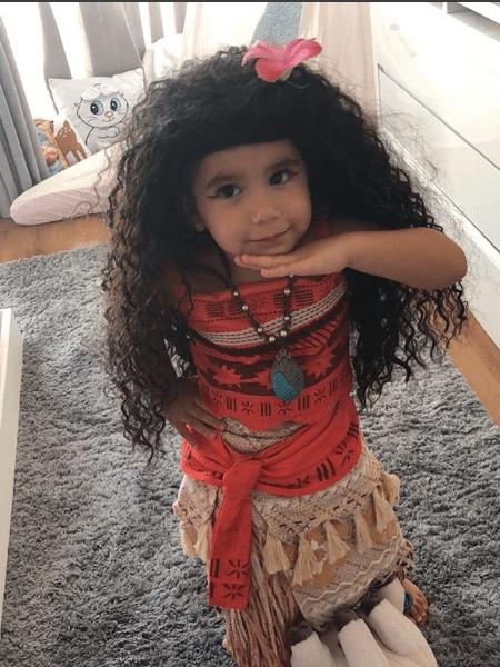 Maria Flor, filha de Deborah Secco e Hugo Moura - Reprodução/Instagram