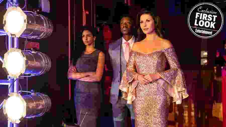 """Catherine Zeta-Jones em """"Queen America"""" - Reprodução/EW"""