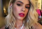 Elas não são loiras: veja 25 morenas famosas que adotaram fios platinados - Reprodução/Instagram/brumarquezine