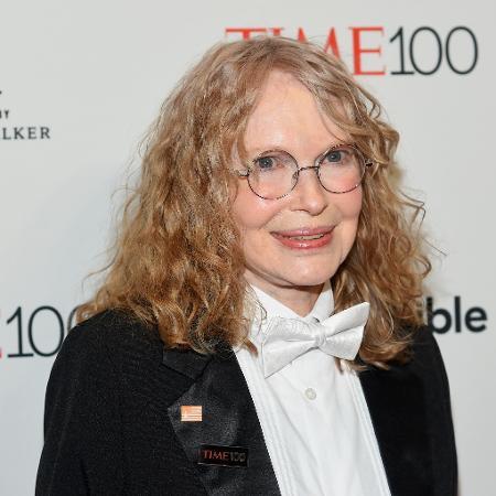A atriz Mia Farrow  - Ben Gabbe/Getty Images for Time