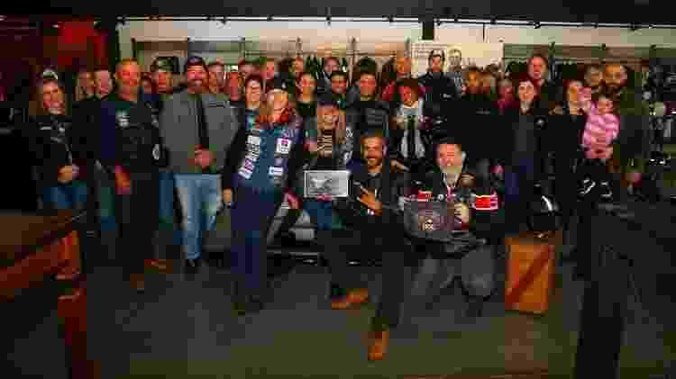 Harley-Davidson Outubro Rosa - Arquivo pessoal - Arquivo pessoal
