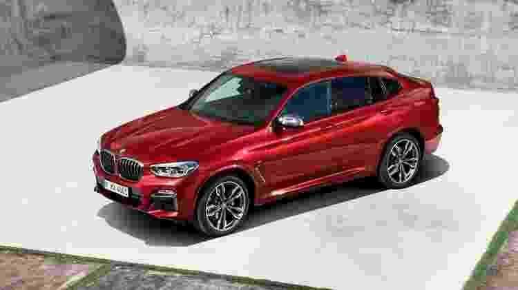 Novo BMW X4 será uma das atrações da marca no Salão do Automóvel deste ano - Divulgação