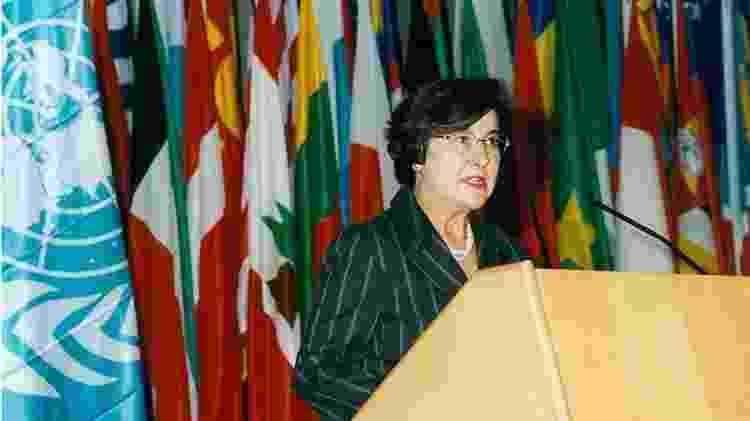 A antropóloga Ruth Cardoso acabou com a LBA durante o primeiro ano de governo do marido, Fernando Henrique Cardoso; a professora ajudou a desenvolver programas sociais com foco em educação - Fundação FHC - Fundação FHC