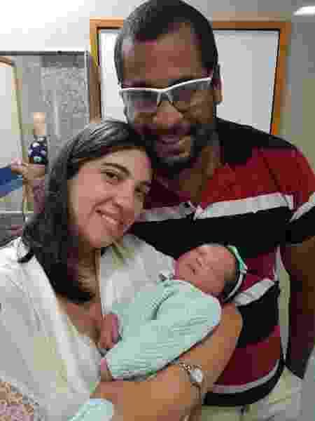 Bruna Ananda deu à luz Aurora na presença de seus papais - Arquivo Pessoal