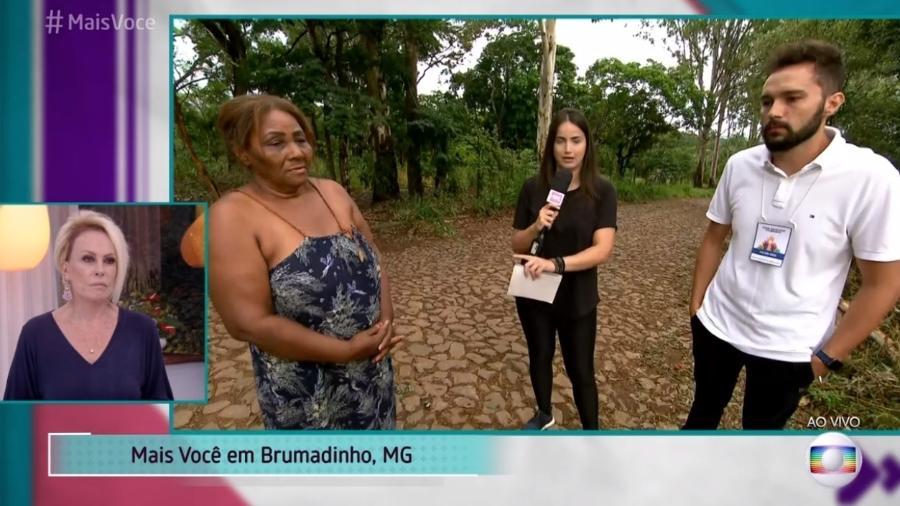 """Jornalista Mari Palma estreia no """"Mais Você"""" com cobertura em Brumadinho (MG) - Reprodução/Globo"""
