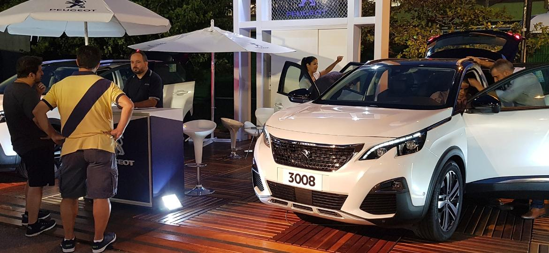 Peugeot patrocina competição e atletas, mas também aproveita Rio Open de Tênis para negociar 2008, 3008 e 5008 - Eugênio Augusto Brito/UOL