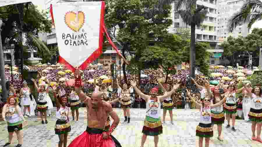 Baianas Ozadas tem local de trajeto trocado de última hora - Divulgação