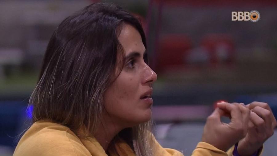 Carolina fala sobre postura de Danrley - Reprodução/Globoplay