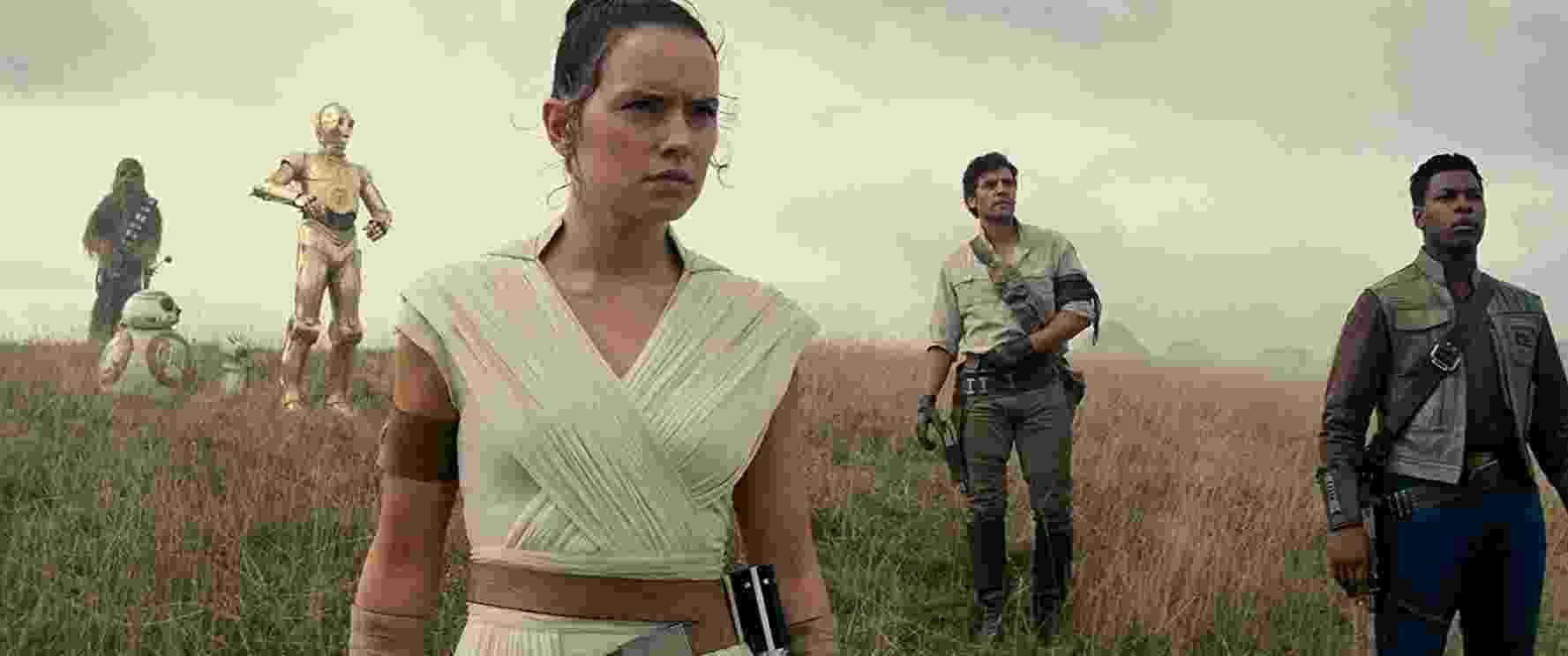 """Os heróis de """"Star Wars IX: The Rise of Skywalker"""" se reúnem para um novo desafio - Divulgação"""