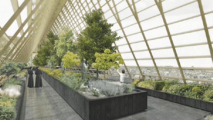 Jardins suspensos apresentada pelo NAB Studio, de Paris, focam na agricultura urbana - NAB Studio - NAB Studio