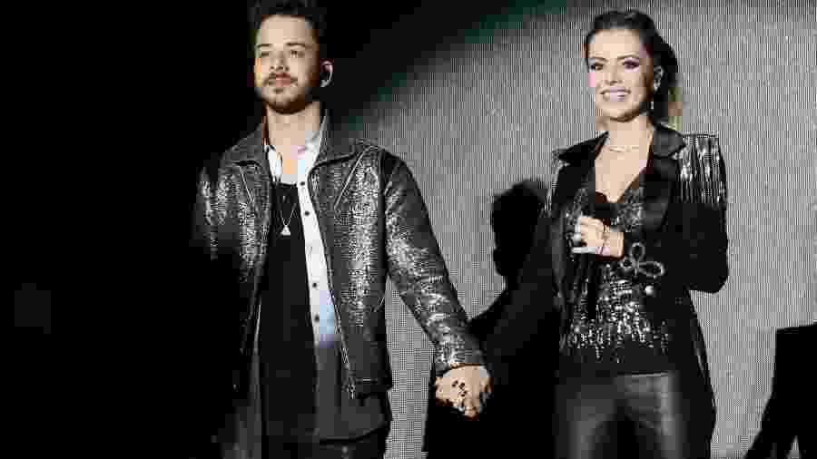 A dupla Sandy & Junior se apresenta em Salvador no 2º show da turnê Nossa História - Manuela Scarpa/Brazil News