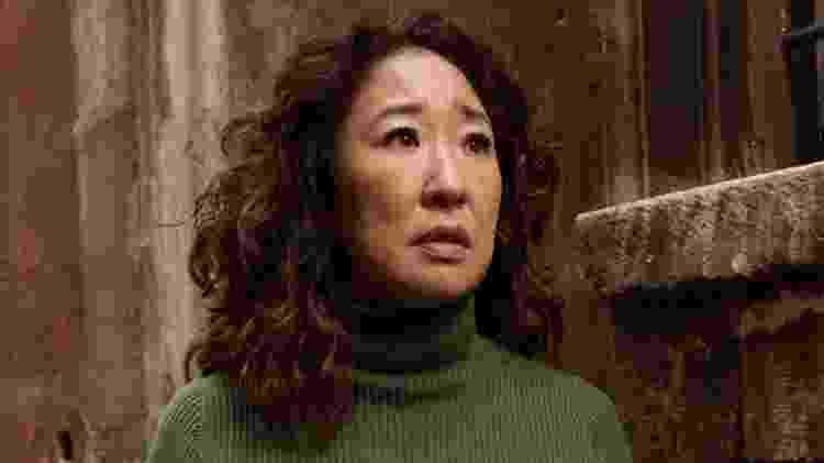 Sandra Oh em cena da segunda temporada de Killing Eve - Divulgação/IMDb