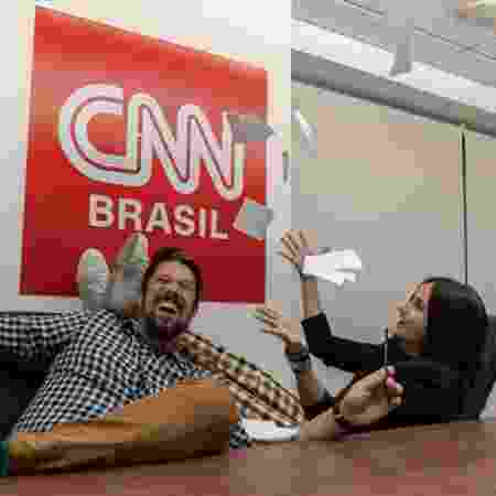 Phelipe Siani e Mari Palma são os novos contratados da CNN Brasil - Divulgação/CNN Brasil