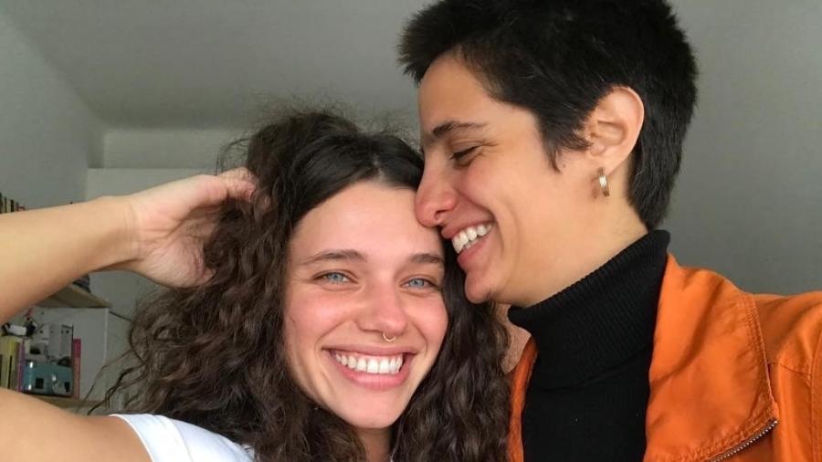 Bruna Linzmeyer anunciou o fim do namoro com Priscila Visman - Reprodução/Instagram