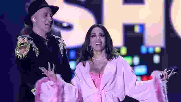 Anitta e Paulo Gustavo no Prêmio Multishow 2019 - Roberto Filho/Agência Brasil News - Roberto Filho/Agência Brasil News