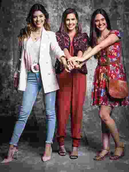 Vitória Strada, Deborah Secco e Juliana Paiva são as protagonistas de Salve-se Quem Puder   - João Miguel Júnior TV Globo