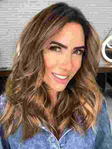 Patricia Abravanel renova o visual - REPRODUÇÃO/INSTAGRAM