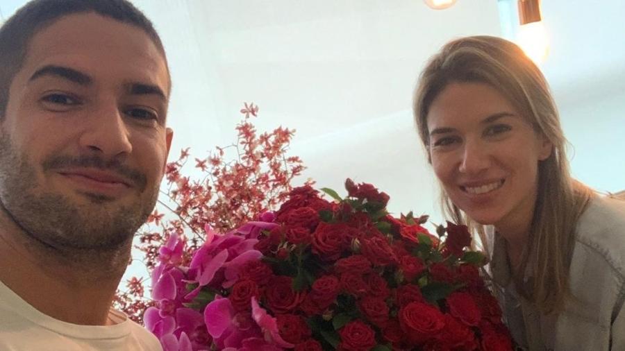 Alexandre Pato e Rebeca Abravanel - Reprodução/Instagram
