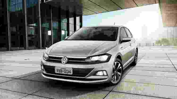 Atual geração do Polo chegou em 2017 como opção mais sofisticada de hatch compacto da Volkswagen - Divulgação - Divulgação
