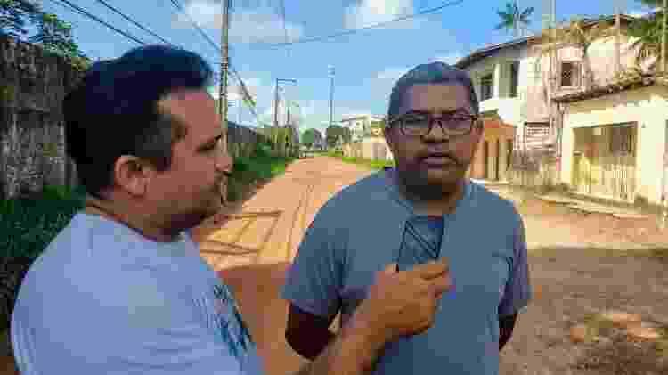Wellington Frazão (esq.), integrante do Periferia em Foco, de Belém (PA) - Arquivo Pessoal - Arquivo Pessoal
