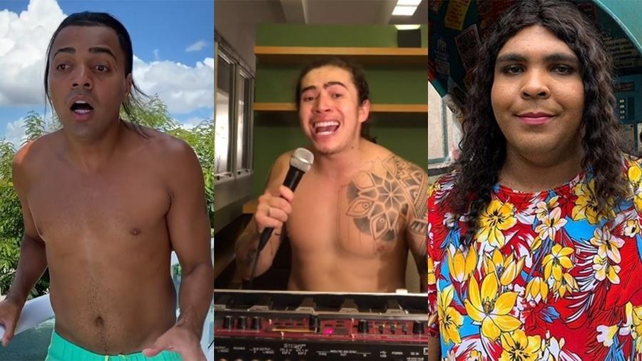 Tirullipa, Whindersson e Paulo Vieira divertem fãs nas redes sociais durante a quarentena - Reprodução/Instagram