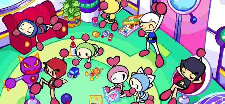 Bomberman e sua turma - Divulgação/Konami