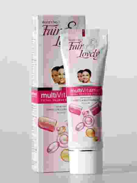 """A embalagem do produto """"Fair & Lovely"""", da Unilever, um dos pivôs da revolta contra clareadores de pele na Ásia - Peter Power/Toronto Star via Getty Images"""