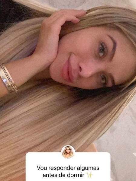 Flavia Pavanelli em clique no Instagram - Reprodução