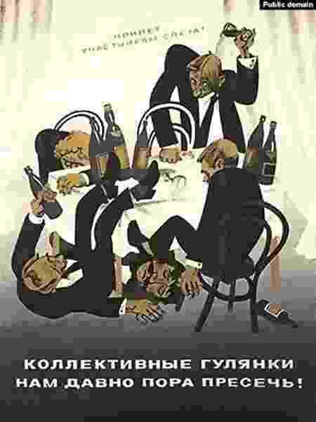 cartazes soviéticos - Reprodução - Reprodução