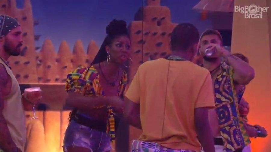 BBB 21: Camilla de Lucas declara guerra a Lucas no reality - Reprodução/Globoplay
