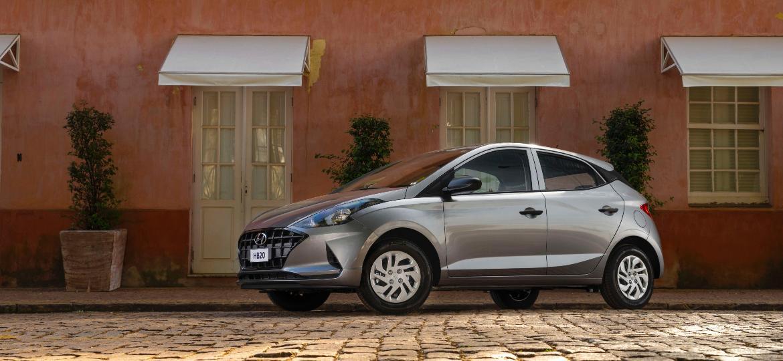 HB20 tirou a liderança do Onix no acumulado de vendas considerando o período de 1º de janeiro a 15 de junho de 2021; hatch da Hyundai tem média de 14,6 km/l na estrada com gasolina - Divulgação