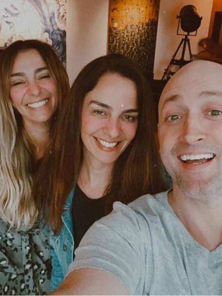 Mo?nica Martelli, Susana Garcia e Paulo Gustavo - Reprodução / Instagram