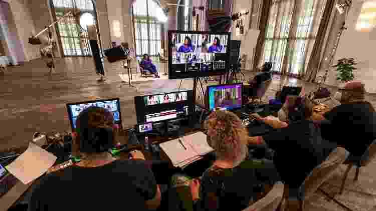 Bastidores da gravação do Universa Talks 2021 Empreendedorismo - Mariana Pekin/UOL - Mariana Pekin/UOL