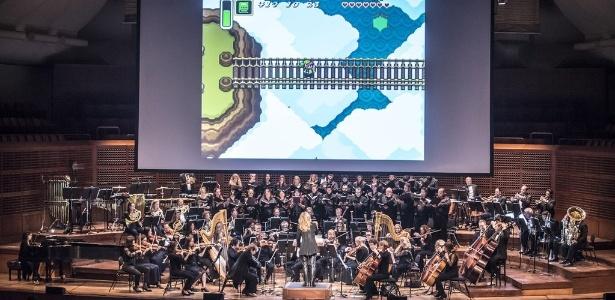 """Com 90 músicos, orquestra de """"Zelda"""" fará turnê mundial para comemorar lançamento de """"Breath of the Wild"""" - The Legend of Zelda: Symphony of the Goddesses/Divulgação"""