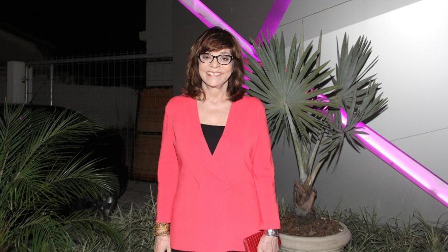 """A autora Gloria Perez foi uma das primeiras a chegar para acompanhar o primeiro capítulo de """"A Força do Querer"""" - Wallace Barbosa / AgNews"""