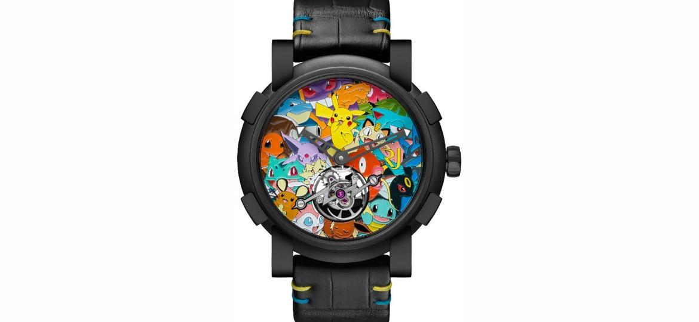c05e2346552 Relógio foi feito em parceria entre a RJ-Romain Jerome e a The Pokémon  Company  só haverá uma única unidade dele no mundo e