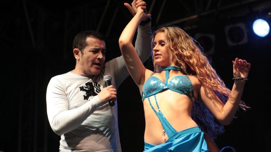 Show de Beto Barbosa na Virada Cultural de São Paulo de 2009 - Guilherme Lara Campos/Folha Imagem