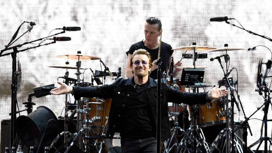 U2 faz show da The Joshua Tree Tour em Londres - Dylan Martinez/Reuters