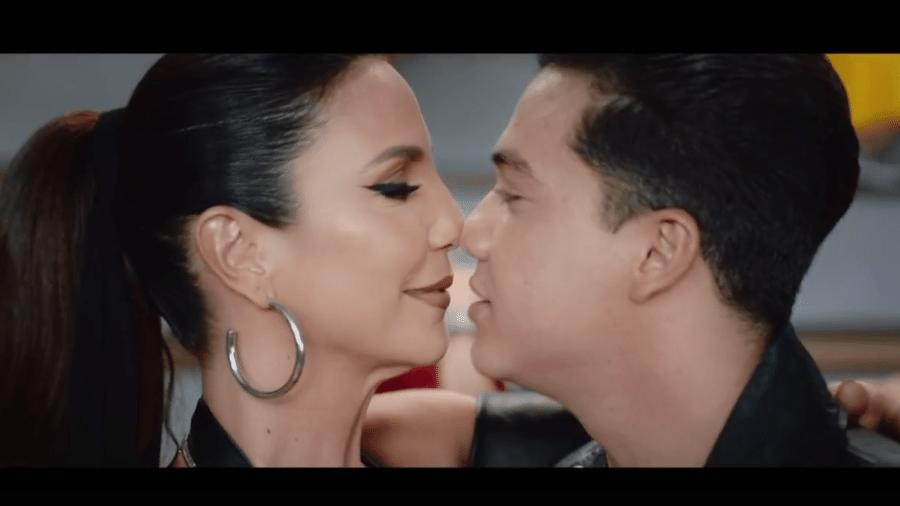 Ivete Sangalo grava clipe com Wesley Safadão - Reprodução/TV Globo