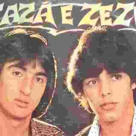 Nos anos 80, Zezé formou uma dupla com Zazá e juntos eles gravaram três discos - Reprodução