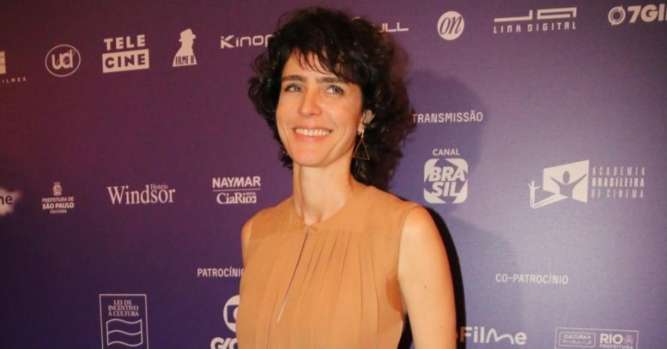Famosos chegam ao Grande Prêmio de Cinema Brasileiro, concedido pela Academia Nacional do Cinema, no Teatro Municial, centro do Rio de Janeiro, nesta terça-feira (5)