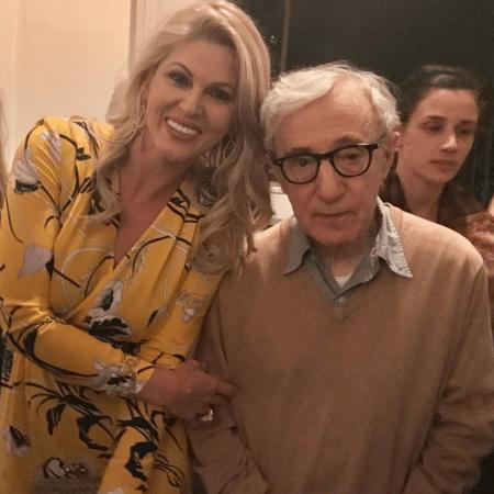 Val Marchiori e Woody Allen - Reprodução/Instagram/valmarchiori
