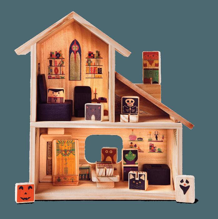 Casa Halloween, R$ 588, Kitopeq (www.kitopeq.com.br)