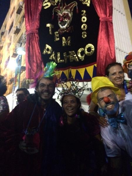 Túlio Gadelha no Bloco Segunda Tem Palhaço, no Recife Antigo - Mateus Araújo/UOL